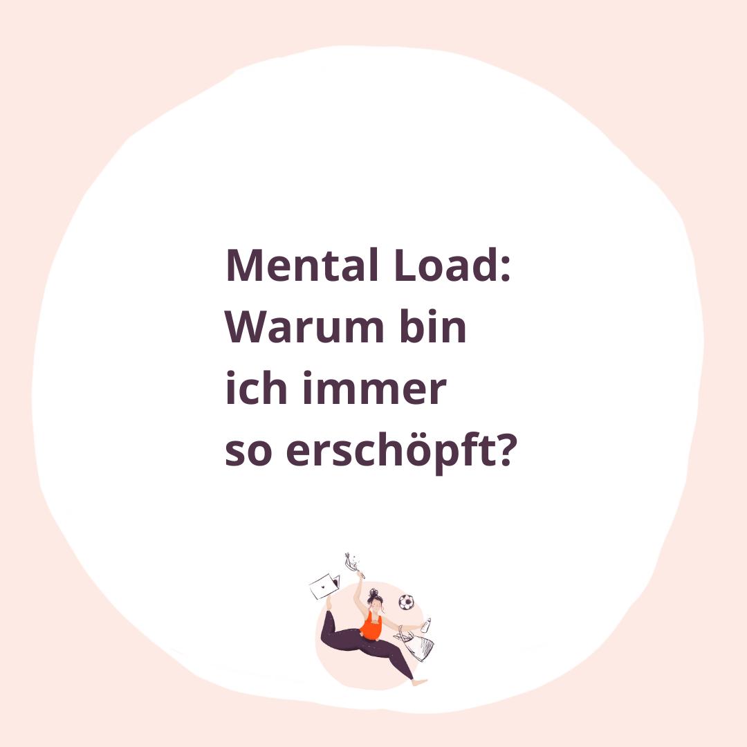 Mental Load: Warum bin ich immer so erschöpft?