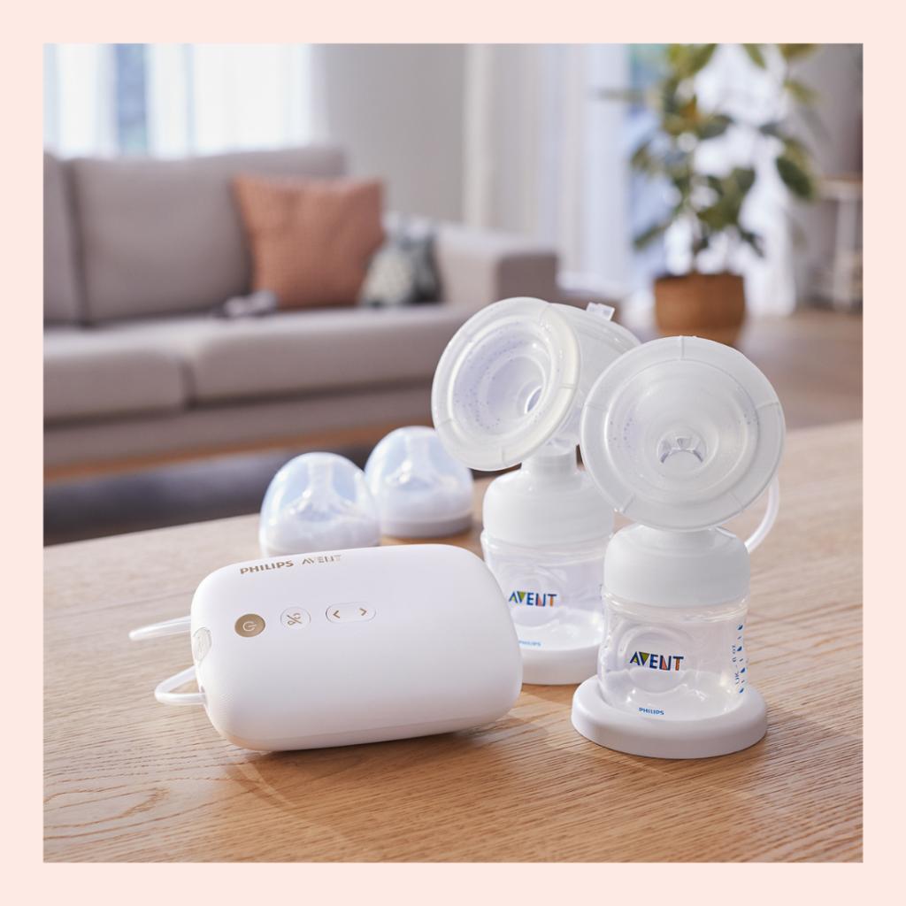 Die neue elektrische Milchpumpe von Philips Avent ist inspiriert von Babys und effektiv für Mamas.