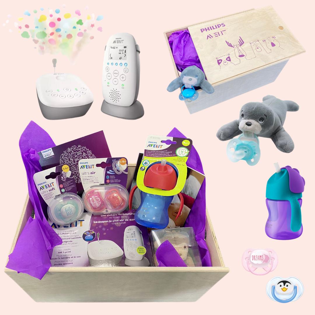 Die Mamsterrad HalloBaby-Box von Philips Avent